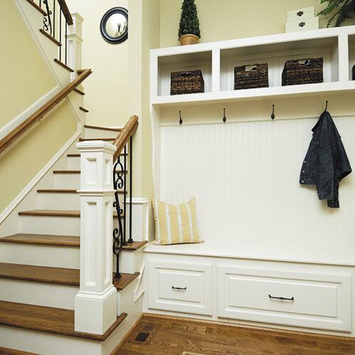 Custom build-in woodwork clary construction